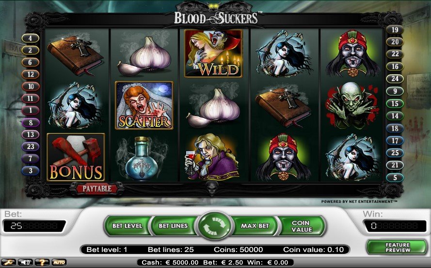 Blood Suckers Pokie Review
