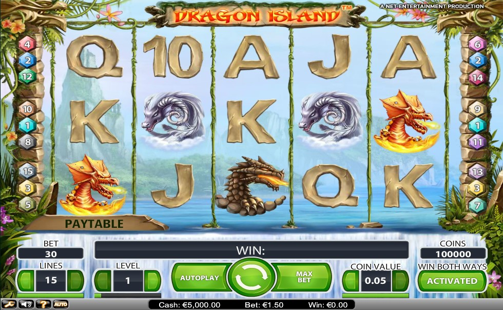 Dragon Island Pokie Review