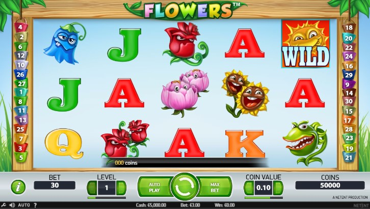 Flowers Pokie Review